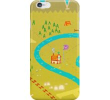 Font Mountains iPhone Case/Skin