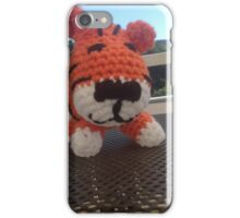 Tiger baby, 1 day old iPhone Case/Skin