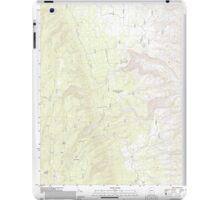 USGS TOPO Map Arizona AZ Kane Ranch 20120515 TM iPad Case/Skin