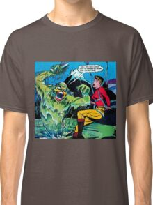 Swamp Sludge Thing attacks Classic T-Shirt