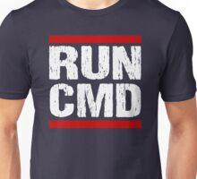 Run CMD Shirt - Programmer Shirt - Command Prompt PC Shirt Unisex T-Shirt