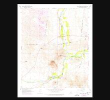 USGS TOPO Map Arizona AZ Granite Reef Dam 311548 1964 24000 Unisex T-Shirt