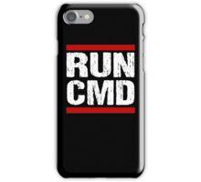 Run CMD Shirt - Programmer Shirt - Command Prompt PC Shirt iPhone Case/Skin