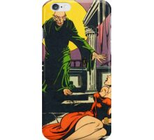 Nosferatu advances upon his captive iPhone Case/Skin