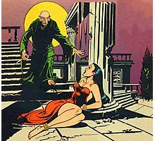 Nosferatu advances upon his captive Photographic Print