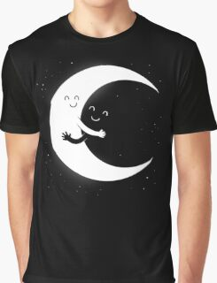 Gifts For Mom - Moon Hug Shirt - Funny Picture T-Shirt Graphic T-Shirt