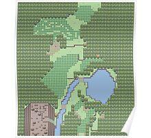 Pokemon Route 1 (Gen 5) Poster