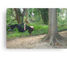 Swing life away Canvas Print