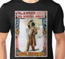 Performing Arts Posters Wm H Wests Big Minstrel Jubilee formerly of Primrose West 1867 Unisex T-Shirt