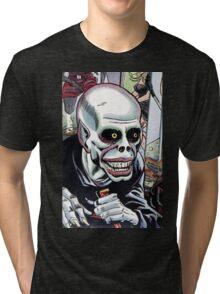 Horrible Evil Undead Ghoul Tri-blend T-Shirt