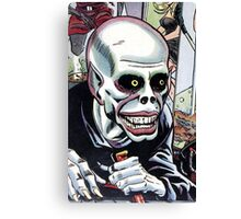 Horrible Evil Undead Ghoul Canvas Print