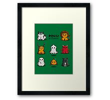 Kawaii of Thrones Framed Print