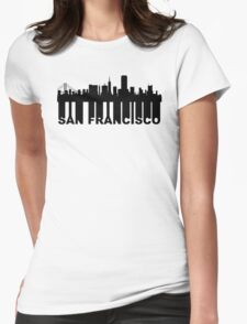 Roots Of San Francisco CA Skyline Womens Fitted T-Shirt