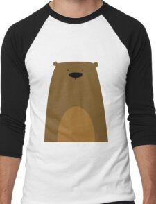 Stumped Bear Men's Baseball ¾ T-Shirt
