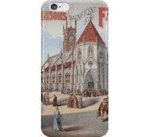Performing Arts Posters Lewis Morrisons magnificent new Faust 0672 iPhone Case/Skin