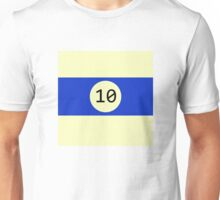Billiard ball n.10 Unisex T-Shirt