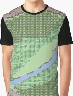 Pokemon Route 4 (Gen 5) Graphic T-Shirt