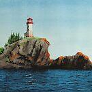 Battle Island Lighthouse by Douglas Hunt