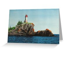 Battle Island Lighthouse Greeting Card