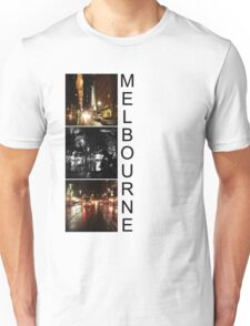 Melbourne shines at night 2 Unisex T-Shirt