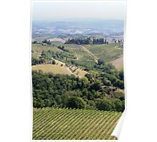 Chianti nearby Poster