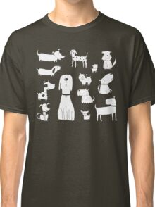 dogs - latte Classic T-Shirt