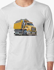Cartoon Dump Truck Long Sleeve T-Shirt