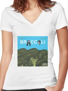 Broccoli Lil Yachty D.R.A.M. Women's Fitted V-Neck T-Shirt