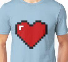 8 Bit Heart Unisex T-Shirt