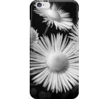 Black and White Flower Bouquet iPhone Case/Skin