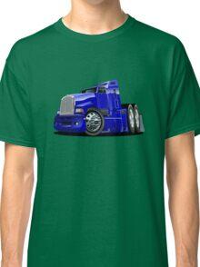 Cartoon semi-truck Classic T-Shirt