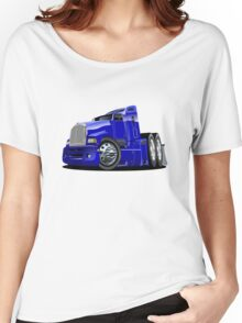 Cartoon semi-truck Women's Relaxed Fit T-Shirt