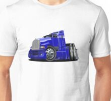 Cartoon semi-truck Unisex T-Shirt