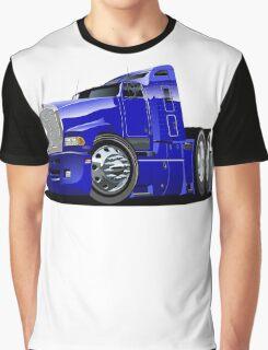 Cartoon semi-truck Graphic T-Shirt