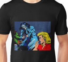 A Ghoul attacking a man Unisex T-Shirt