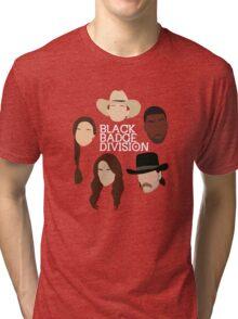 Wynonna Earp - Black Badge Division (Minimalistic poster) Tri-blend T-Shirt
