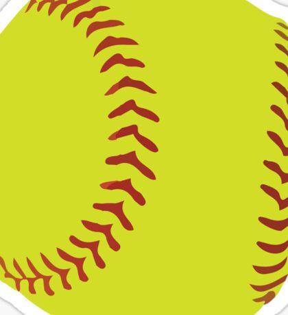 Softball Sticker