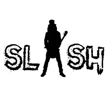 rock and roll legend black silhouette Photographic Print