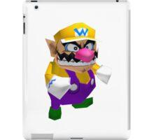 Wario sprite iPad Case/Skin