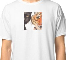 Yellow Peril Supports Black Power (Animal Close Up) Classic T-Shirt