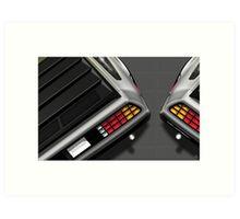 Poster artwork - DeLorean DMC-12 Art Print