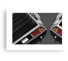 Poster artwork - DeLorean DMC-12 Canvas Print