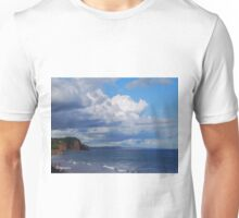 Chased across the sky Unisex T-Shirt