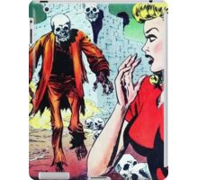 The Zombie has spotted you! iPad Case/Skin