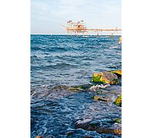 Along the Abruzzo coast  Photographic Print