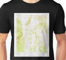USGS TOPO Map Arizona AZ Hunters Point 311858 1971 24000 Unisex T-Shirt