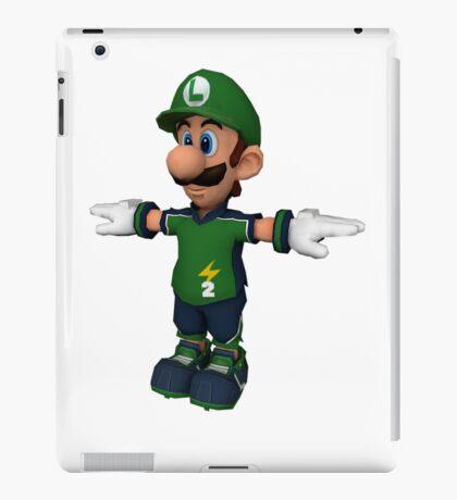 Luigi sprite iPad Case/Skin