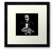 The Cat Father Framed Print