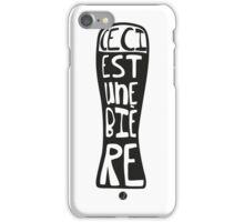 Ceci est une bière iPhone Case/Skin
