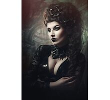 Goth Queen II Photographic Print